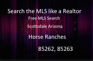 Horse Properties Rio Verde Arizona,85262 Horse Farms