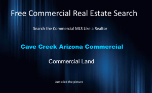 commercial land cave creek arizona