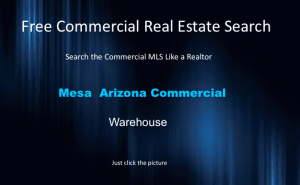 warehouse space mesa az