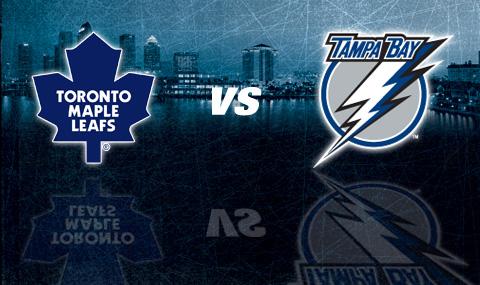 It's Leafs vs The Lightning on #BellLetsTalk Day