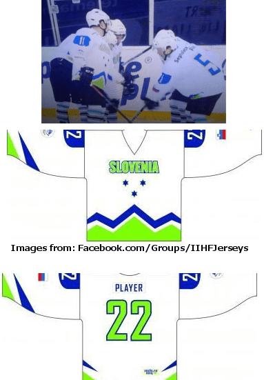 SLOVENIA Olympic hockey – GROUP A