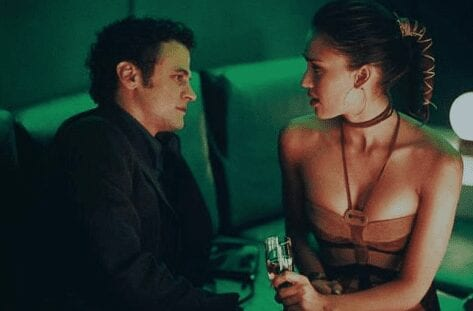 With Jessica Alba in Honey.