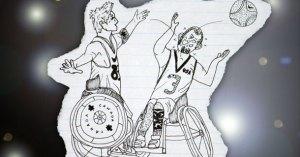A scene from Jeff's webcomic