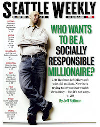 Investing for Change, Seattle Weekly