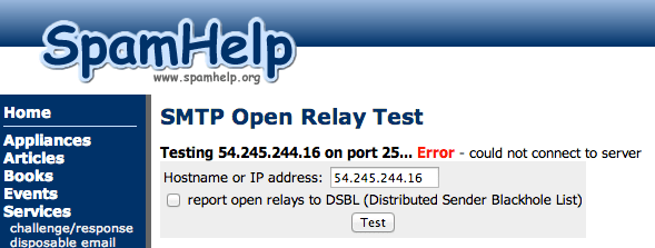 open-relay-test