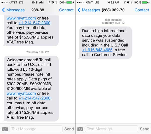 AT&T's Texts Show How Quickly This Happened