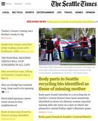 Gruesome News in Seattle