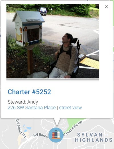 Little Free Libraries of Portland