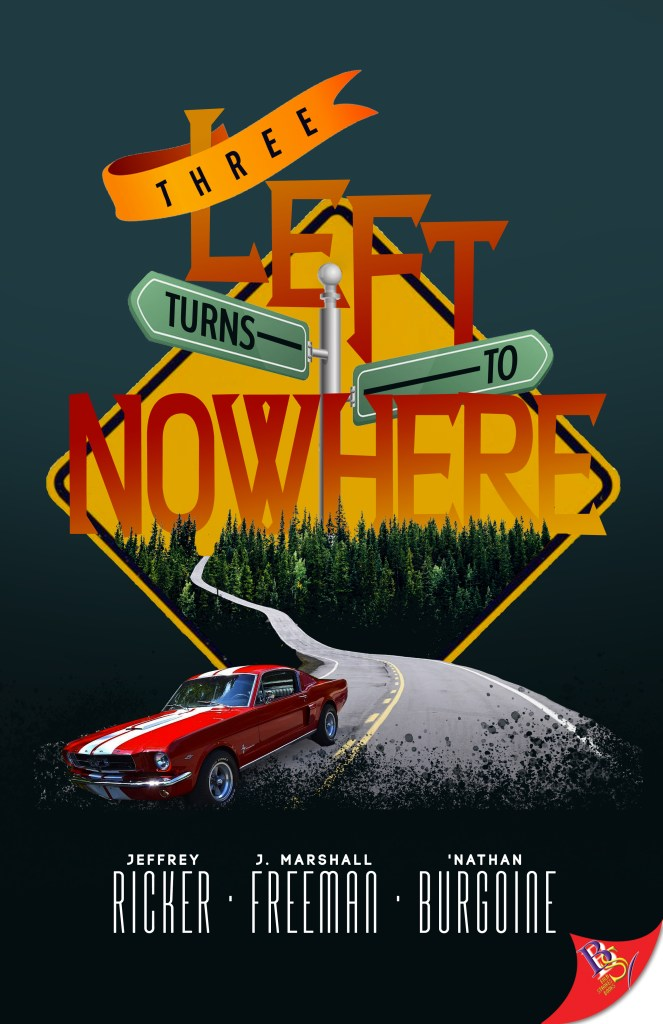 Cover Art for Three Left Turns to Nowhere