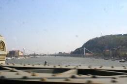 The Danube from the Chain Bridge.