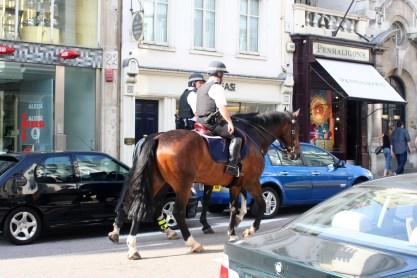 London's finest. Plus two cops.