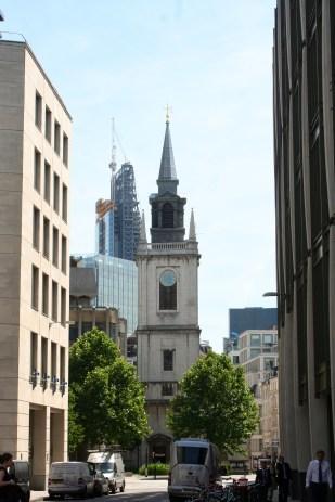 Christopher Wren's spire for St. Vedast-alias-Foster.