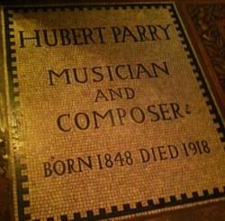Hubert Parry.