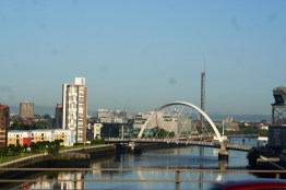 The River Clyde in Glasgow.