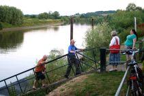 John Schaefer, and the River Severn.