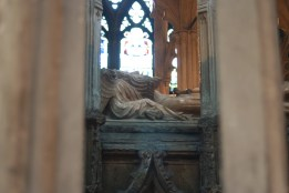 The tomb of Kind Edward II, directly behind my seat at Evensong.