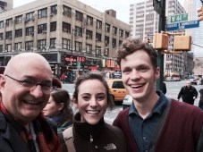 With Dakota and Kurt at 44th and 8th today.