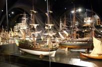 Ship model. Rijksmuseum.
