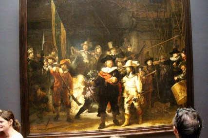 Night Watch. Rembrandt's most famous painting. Rijksmuseum.