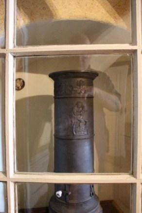 A heater in the servant quarters.