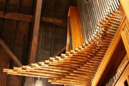Detail of organ.