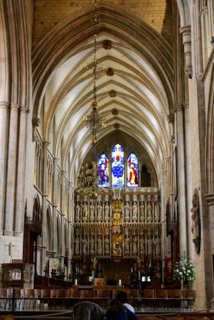 Looking east toward the Chancel.