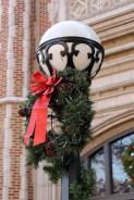 Detail. Lamp-post at SLU High.
