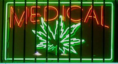 Medical Marijuana Neon Sign