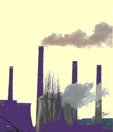 Smokestack Chemical Pollution