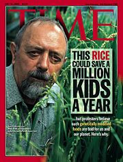 Voer of Time Magazine Golden Rice