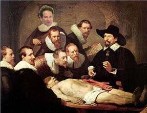 Calcium Score Anatomy Lesson by Rembrant Dr Tulp Hague