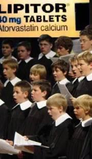 Statin Choir Boy Turns Disbeliever