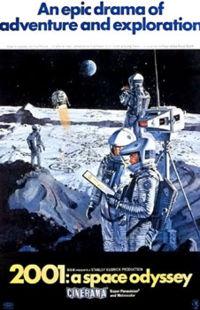 Space Oddessy 2001 Kubrick