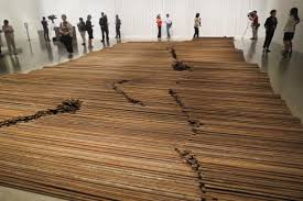 Ai Wei Wei Steel Bars From Schools Destryed in Earthquake