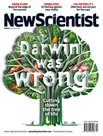 New SCientist Cover Darwin Was Wrong