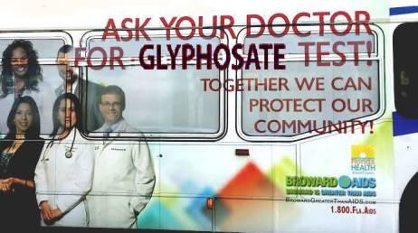 Glyphosate Test Advertising on Broward County Bus_4