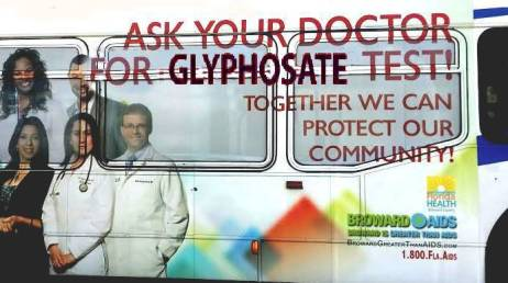 Glyphosate Test Advertising on Broward County Bus_4