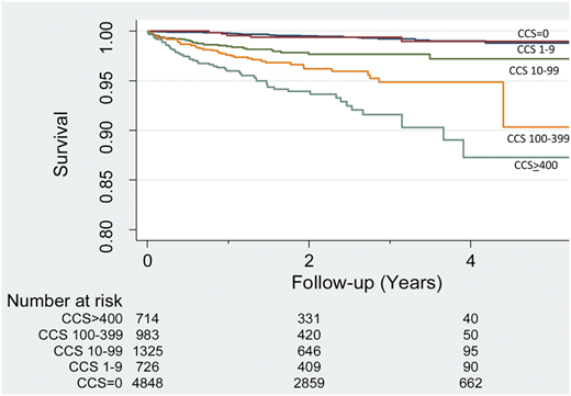 Coronary Calcium Score Risks CONFIRM registry. Eur Heart J Cardiovasc Imaging 2014
