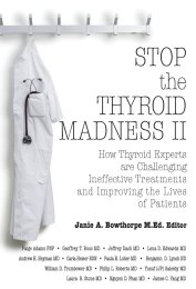 Stop the Thyroid Madness Vol II Jeffrey Dach MD CoverL