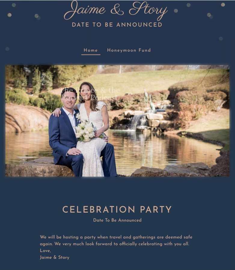 Story Cowles wedding