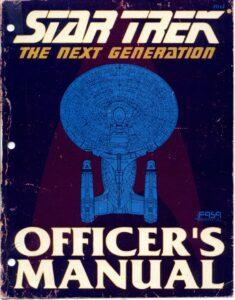 Star Trek: The Next Generation Officer's Manual cover