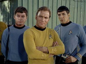 McCoy, Kirk, and Spock