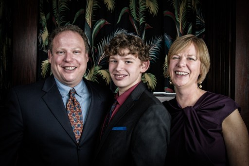 The clients and their son.