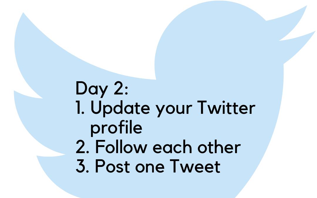 Twitter Challenge: Day 2