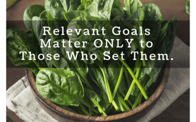 Relevant Goals Matter