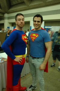 Baltimore Comic Con 2013 - Superman meets DCnU Superman