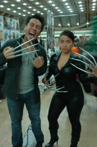 Baltimore Comic Con 2013 - Wolverine and Lady Deathstrike