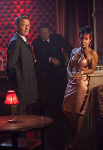 Gotham show pics- Lovecraft - Alfred, Butch and Fish
