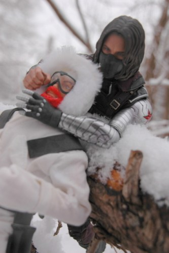 Hot Toys The Winter Soldier - surprising Snow-Job