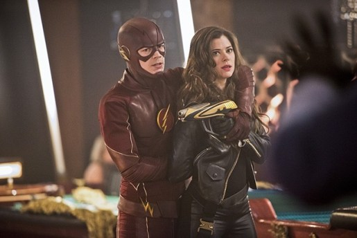 The Flash - Rogue Time - The Flash and Golden Glider